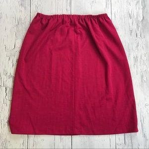 Vintage Pink skirt 80's size 18